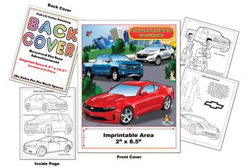 Chevrolet Imprintable Coloring & Activity Book