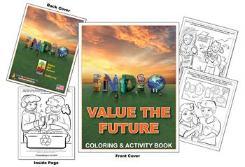 Coloring Books | City of Indio - Value the Future Coloring Book
