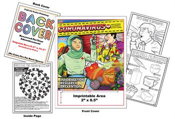 Coronavirus - Imprintable Coloring & Activity Book