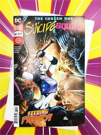 Suicide Squad: The Chosen One, #34 Cover A (D.C. Universe)