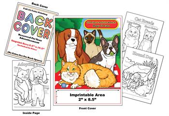 Dogs & Cats - Imprintable Coloring & Activity Book