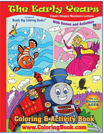The Early Years Really Big Giant Coloring Book