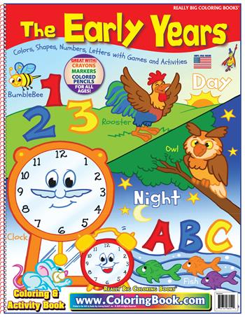 The Early Years Really Big Coloring Book