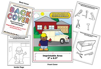 Electrician - Imprintable Coloring & Activity Book
