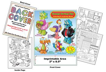 Energy Saving Tips - Imprintable Coloring & Activity Book