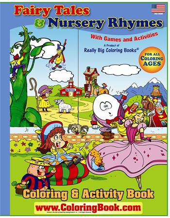 Fairy Tales and Nursery Rhymes Giant Coloring Book