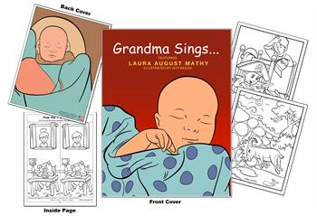 Grandma Sings Coloring Book