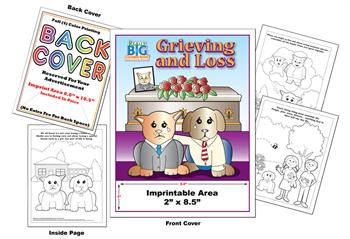 Grieving and Loss - Imprintable Coloring Book