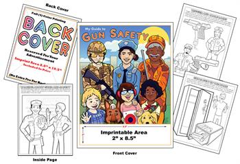 Gun Safety - Imprintable Coloring & Activity Book