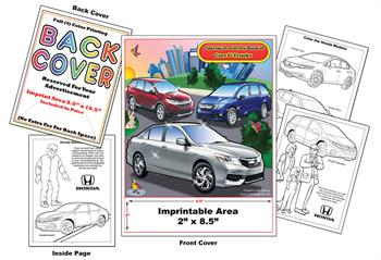 Honda Imprintable Coloring & Activity Book