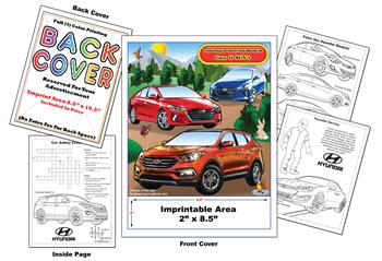 Hyundai Imprintable Coloring & Activity Book