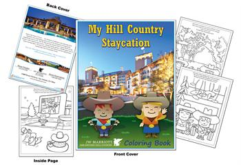 JW Marriott San Antonio Hill Country Coloring Book