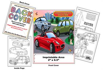 Jaguar - Land Rover Imprintable Coloring & Activity Book