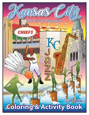 Kansas City Coloring and Activity Book