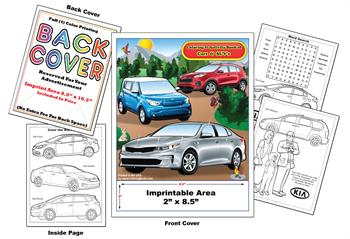 Kia Imprintable Coloring & Activity Book