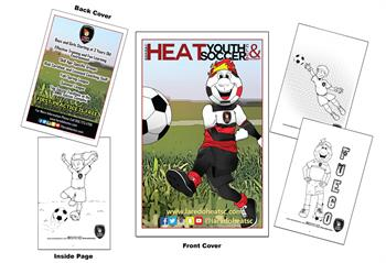 Laredo Heat Soccer Club Coloring Book