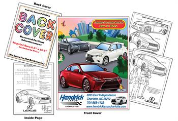 Lexus Imprintable Coloring & Activity Book