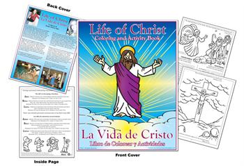 Life of Christ Coloring & Activity Book