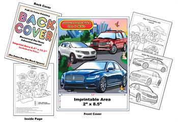 Lincoln Imprintable Coloring & Activity Book