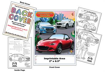 Mazda Imprintable Coloring & Activity Book