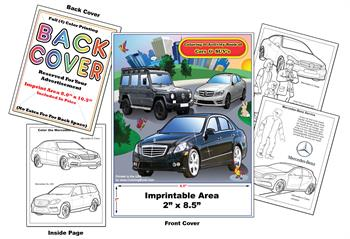 Mercedes-Benz Imprintable Coloring & Activity Book
