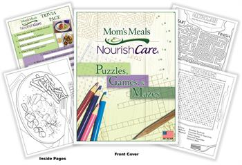 Mom's Meals - Nourish Care Puzzles, Games and Mazes