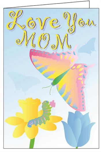 I Love You Mom Really Big Greeting Card