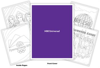 NBCUniversal Coloring Book