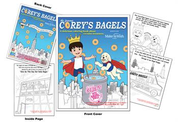 NYC Bagel Deli - Coreys Bagels Coloring and Activity Book