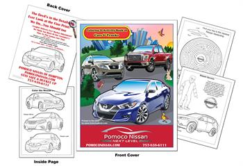 Nissan Imprintable Coloring Book