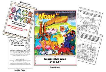 Noah and the Ark - Imprintable Coloring & Activity Book
