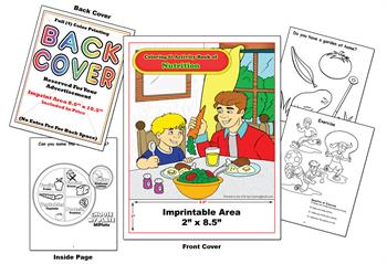 Nutrition - Imprintable Coloring & Activity Book