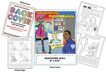 Opioid - Imprintable Coloring & Activity Book