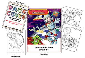 Outer Space - Imprintable Coloring & Activity Book