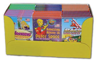 Travel Sized Coloring Books
