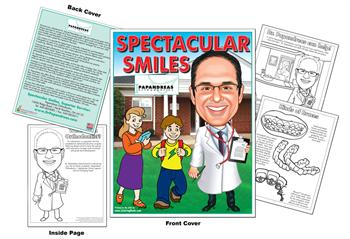 Spectacular Smiles - Papandreas Orthodontics Coloring Book
