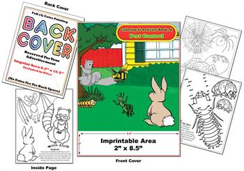 Pest Control - Imprintable Coloring & Activity Book