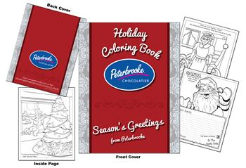 Peterbrooke Chocolatier-Holiday Coloring Book