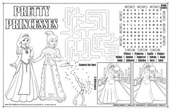Colorable Princesses