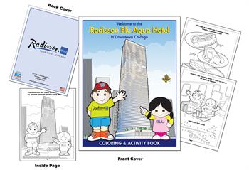 Radisson Blu Aqua Hotel - Chicago Coloring Book