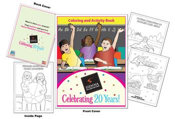 Sienna Plantation Coloring and Activity Book