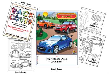 Subaru Imprintable Coloring and Activity Book