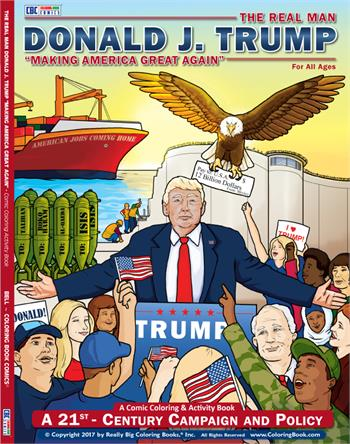 Donald Trump Coloring Book Comic