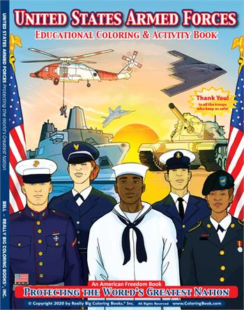 United States Armed Forces Coloring Activity Book
