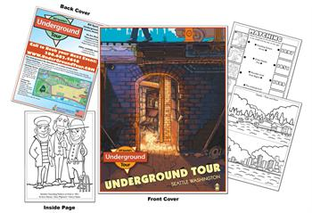 Bill Spiedels Underground Tour Coloring Book