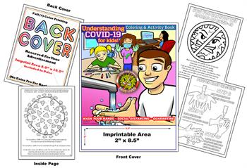 Understanding COVID-19 for kids imprintable coloring book
