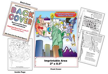 United We Stand - Imprintable Coloring & Activity Book
