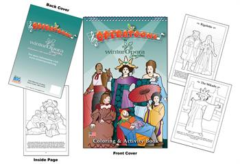 Operatoons - Winter Opera Saint Louis Coloring and Activity Book