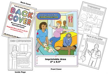 Chiropractor - Imprintable Coloring & Activity Book