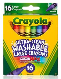 16 ct. Ultra-Clean Washable Large Crayons
